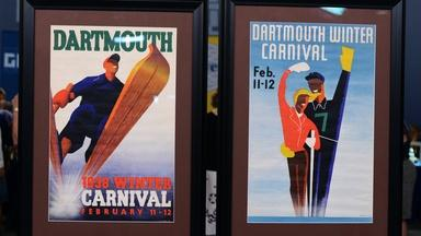 Appraisal: 1938 Dartmouth Winter Carnival Posters