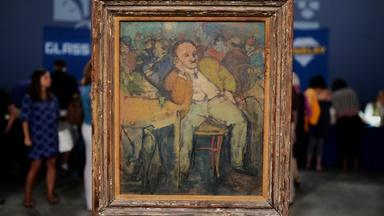 Appraisal: Henry Botkin Oil Painting, ca. 1935