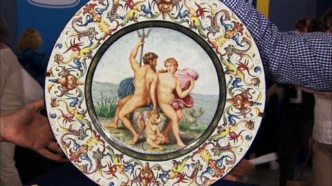 Antiques Roadshow -- S20 Ep7: Appraisal: Italian Renaissance Revival Majolica Cha