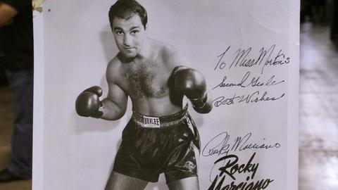 Antiques Roadshow -- S20 Ep7: Web Appraisal: Rocky Marciano Photo & Letters, ca.