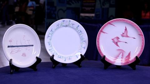 Antiques Roadshow -- S20: Web Appraisal: 20th C. Railroad China Plates