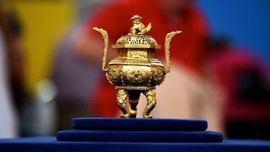 Appraisal: 18th-Century Chinese Tonkin Gilt Bronze Censer