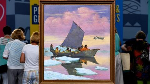 Antiques Roadshow -- S20 Ep8: Appraisal: 1946 Magnus Colcord Heurlin Oil Painting