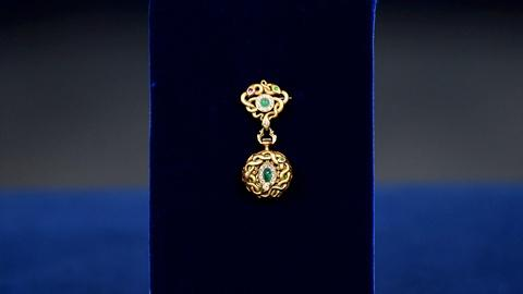 Antiques Roadshow -- S20 Ep8: Appraisal: Newark Gem-set Gold Lapel Watch, ca. 190