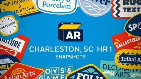 Antiques Roadshow -- Charleston Hr 1 Snapshots