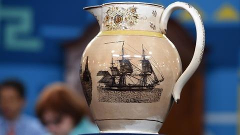 Antiques Roadshow -- S20 Ep9: Appraisal: Staffordshire North Carolina Scene Jug,