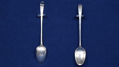Antiques Roadshow -- S20 Ep9: Appraisal: 1774 Rutledge Family Spoons
