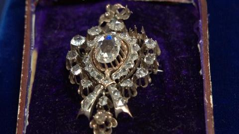 Antiques Roadshow -- S20 Ep9: Appraisal: Eastern European Diamond Pin