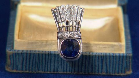 Antiques Roadshow -- S20 Ep9: Appraisal: Platinum & Diamond Shuttlecock Pin