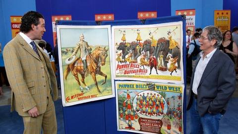 Antiques Roadshow -- S14 Ep4: Appraisal: Buffalo Bill & Pawnee Bill Wild West Pos