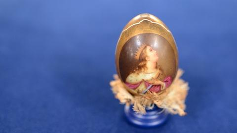 Antiques Roadshow -- Appraisal: Russian Imperial Porcelain Factory  Egg, ca. 1845