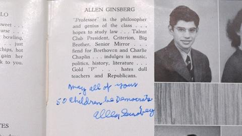 Antiques Roadshow -- S20 Ep10: Appraisal: 1943 Allen Ginsberg-signed Yearbook
