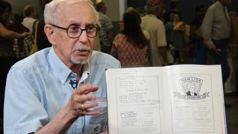 Antiques Roadshow -- S20 Ep10: Owner Interview: 1943 Allen Ginsberg-signed Yearbo