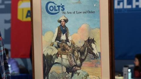 Antiques Roadshow -- Appraisal: Frank Schoonover Colt Poster, ca. 1925