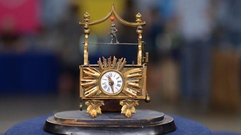 "Antiques Roadshow -- S20 Ep11: Appraisal: Austrian ""Zappler"" Animated Clock, ca."