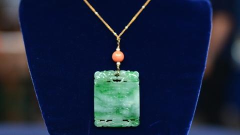 Antiques Roadshow -- S20 Ep11: Appraisal: 19th-Century Jadeite Necklace