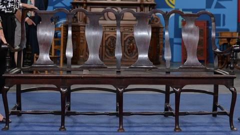 Antiques Roadshow -- S20 Ep11: Appraisal: Dutch Colonial Chair-back Settee, ca. 1