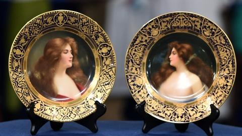 Antiques Roadshow -- S20 Ep11: Appraisal: Royal Vienna-style Plates, ca. 1905