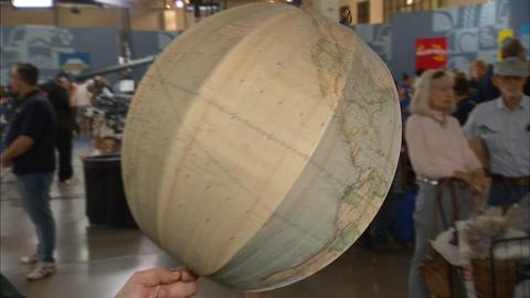 Antiques Roadshow -- S20 Ep11: Appraisal: Betts's New Portable Terrestrial Globe,