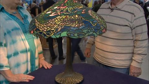 Antiques Roadshow -- S20 Ep11: Appraisal: Duffner & Kimberly Table Lamp, ca. 1905