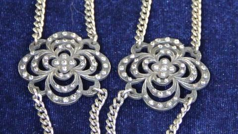 Antiques Roadshow -- S20: Web Appraisal: Cut-Steel Button Necklace, ca. 1850
