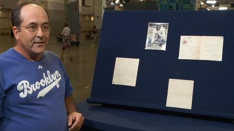 Antiques Roadshow -- S20 Ep11: Owner Interview: Jackie Robinson Archive, ca. 1938