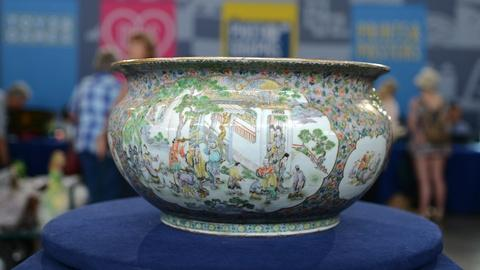 Antiques Roadshow -- S20 Ep12: Appraisal: Chinese Enamel Fishbowl, ca. 1850