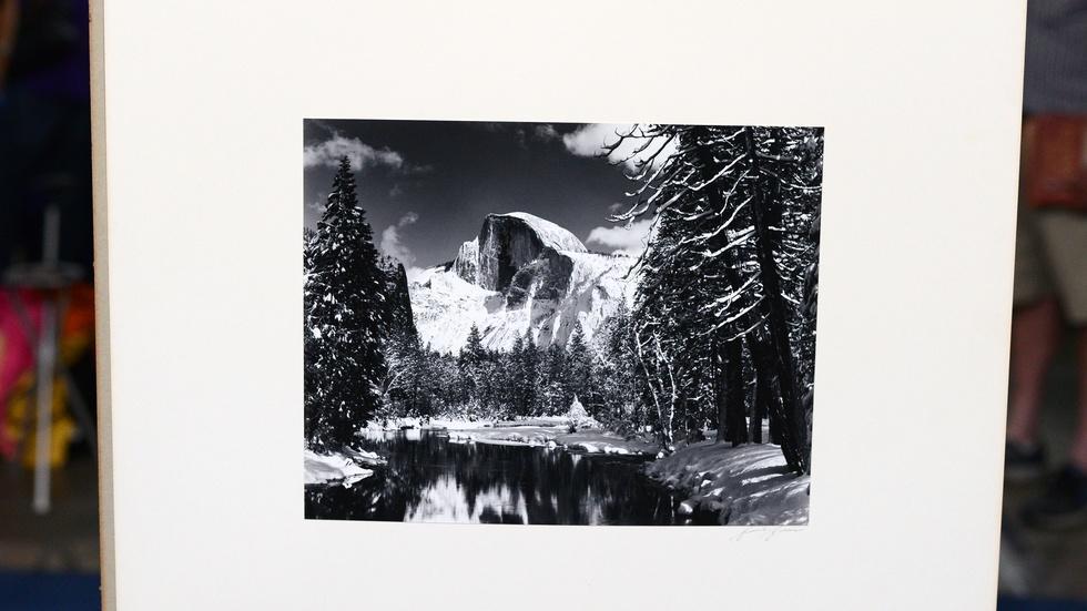 Appraisal: 1938 Ansel Adams-signed Photograph image