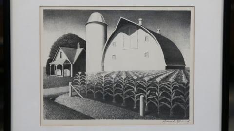 "Antiques Roadshow -- S20 Ep13: Appraisal: 1939 Grant Wood ""Fertility"" Lithograph"