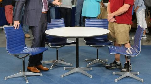 Antiques Roadshow -- S20 Ep13: Appraisal: Charles & Ray Eames Table & Chairs Set,