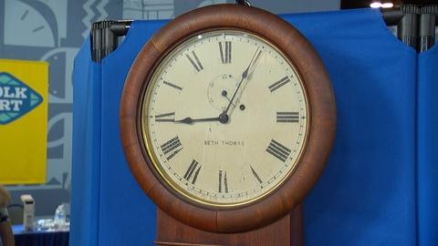 Antiques Roadshow -- S20 Ep13: Appraisal: Seth Thomas Walnut Regulator #2 Clock,