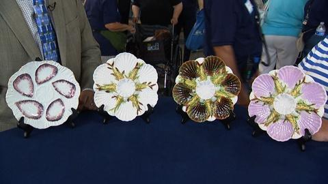 Antiques Roadshow -- S20 Ep13: Appraisal: Four Oyster Plates