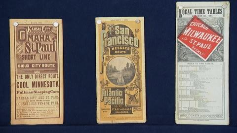 Antiques Roadshow -- S20 Ep13: Appraisal: Railway Poster Maps & Time Tables, ca.
