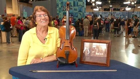 Antiques Roadshow -- S20 Ep13: Owner Interview: Nicholas Heinz Violin Group & Fre