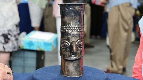 Antiques Roadshow -- S20 Ep14: Appraisal: Chimú Kero Cup, A.D. 1100-1470
