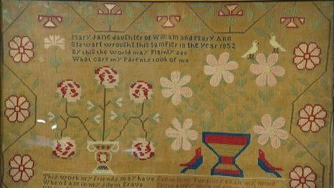 Antiques Roadshow -- S20 Ep14: Appraisal: 1852 Pennsylvania Needlework Sampler