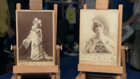 Antiques Roadshow -- S20 Ep14: Appraisal: Hilda Clark Cabinet Card Photographs, c