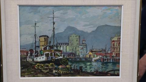 """Antiques Roadshow -- S20 Ep15: Appraisal: 1939 Gregoire Boonzaier """"View of Cape T"""