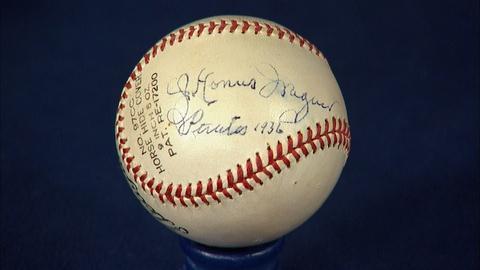 Antiques Roadshow -- S20 Ep15: Appraisal: 1936 Honus Wagner-Signed Baseball