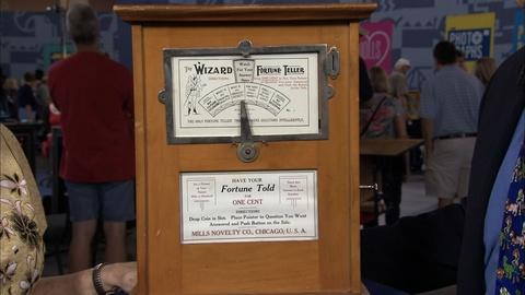 Antiques Roadshow -- S20 Ep15: Appraisal: Mills Wizard Penny Fortune Teller, ca.