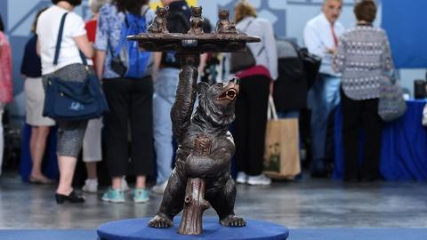 Antiques Roadshow -- S20 Ep16: Appraisal: Black Forest Brienz Smoking Stand, ca.