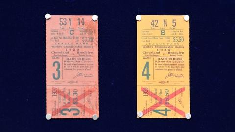 Antiques Roadshow -- S20 Ep16: Appraisal: 1920 World Series Tickets