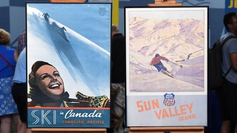 Antiques Roadshow -- S20 Ep16: Appraisal: Railroad Ski Posters, ca. 1940