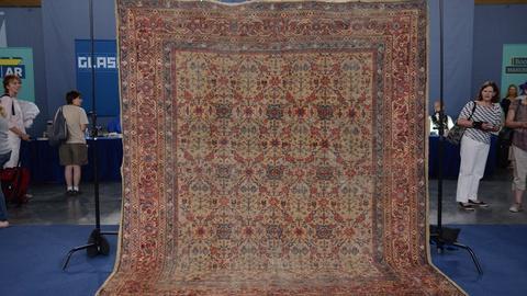 Antiques Roadshow -- S20 Ep16: Appraisal: Persian Fereghan Carpet, ca. 1910