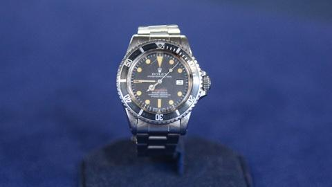 Antiques Roadshow -- S20 Ep16: Appraisal: Rolex Red Submariner Watch, ca. 1972