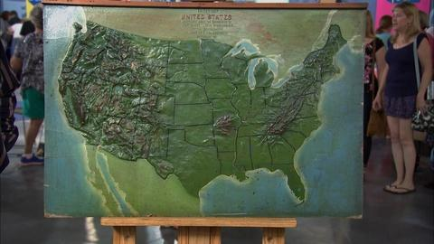 Antiques Roadshow -- S20 Ep16: Appraisal: 1887 Map of USA