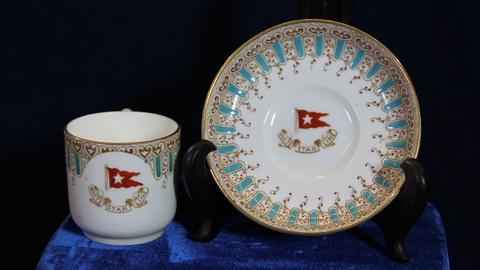 Antiques Roadshow -- S20: Web Appraisal: White Star Line Demitasse Cup & Saucer