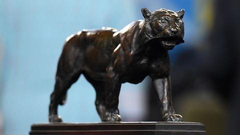 "Antiques Roadshow -- Appraisal: Antoine-Louis Barye ""Marching Tiger"" Bronze, ca."