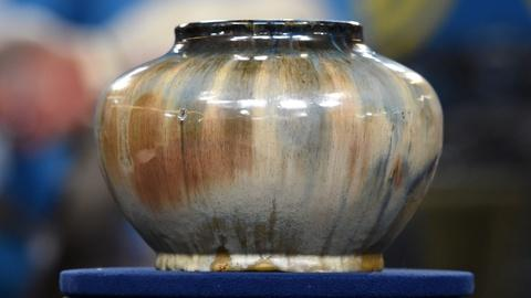 Antiques Roadshow -- S20 Ep17: Appraisal: Fulper Pottery Co. Flambé-glaze Bowl, c