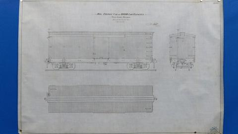 Antiques Roadshow -- Appraisal: Pullman Railroad Technical Drawings, ca. 1900